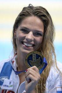 ユリア・エフィモワ 水泳 ドーピング ブーイング  画像