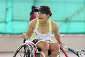 上地結衣 可愛い 病気 テニス パラリンピック 画像