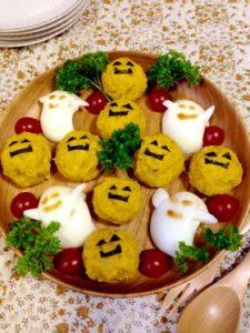 かんたんハロウィン料理 カボチャサラダ