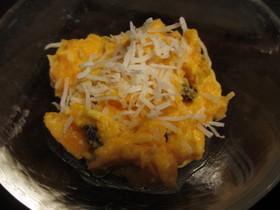 ハロウィン料理 カボチャサラダ